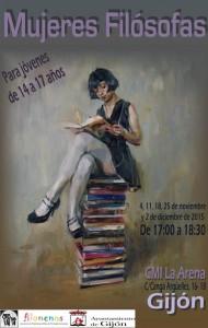 Cartel Mujeres Filósofas